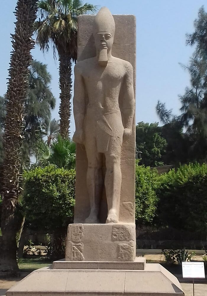Statue of Ramses II in Memphis