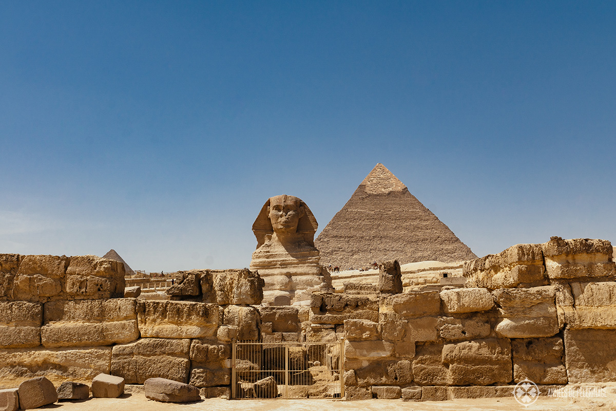 Sphinx in Giza Egypt