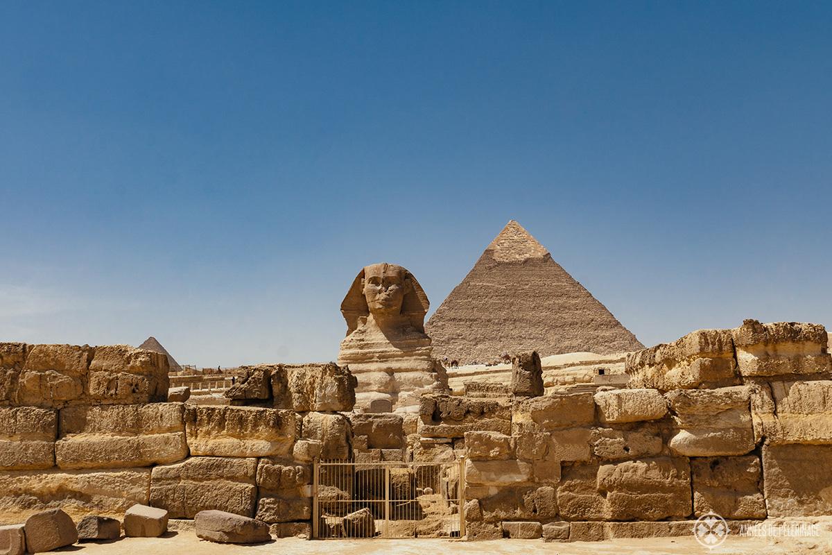 Sphinx in Giza Egypt